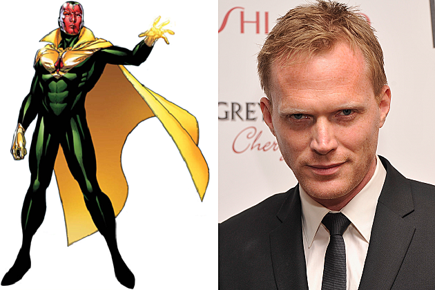 The Vision, Paul Bettany