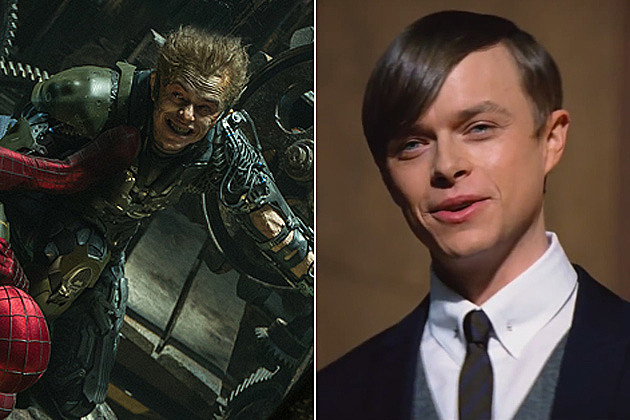 Amazing Spider-Man 2 Dane DeHaan Green Goblin split