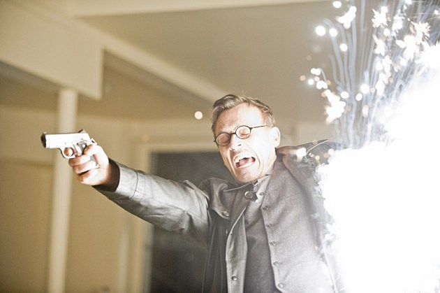 Arrow Clock King Robert Knepper Time of Death Photos