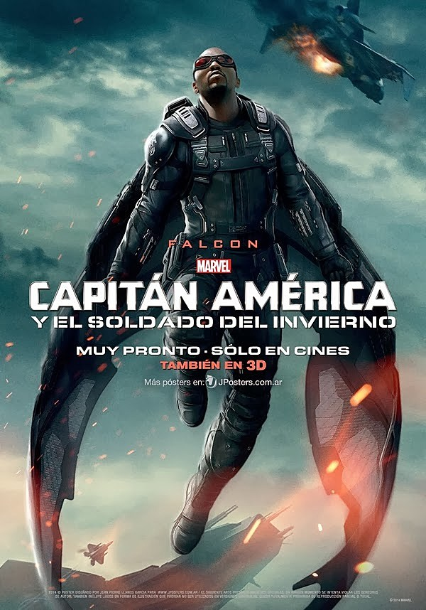Captain America 2 International Poster Falcon