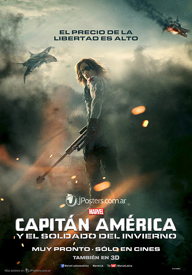 Captain America 2 International Poster Winter Soldier