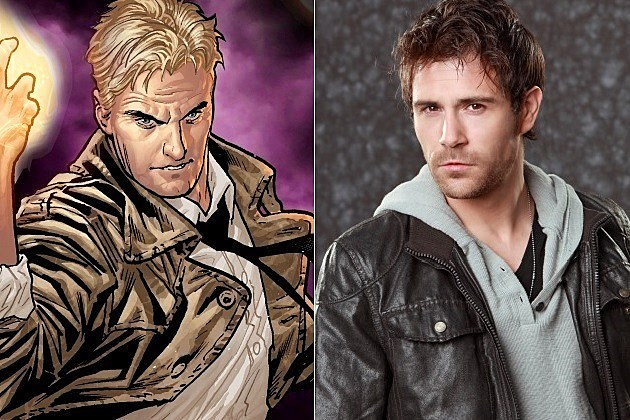 Constantine TV Series Matt Ryan NBC Hellblazer