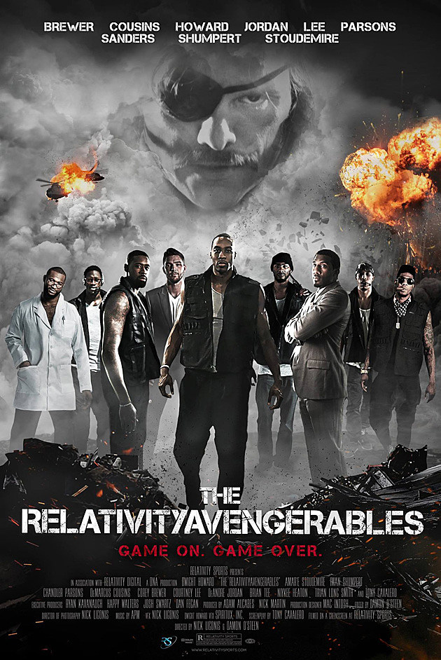 Expendables Spoof Relativityavengerables Poster