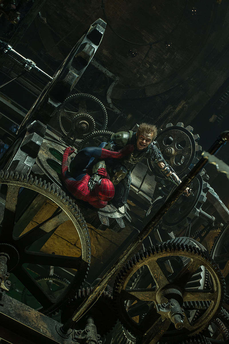Green Goblin Dane DeHaan Amazing Spider-Man 2 Photo