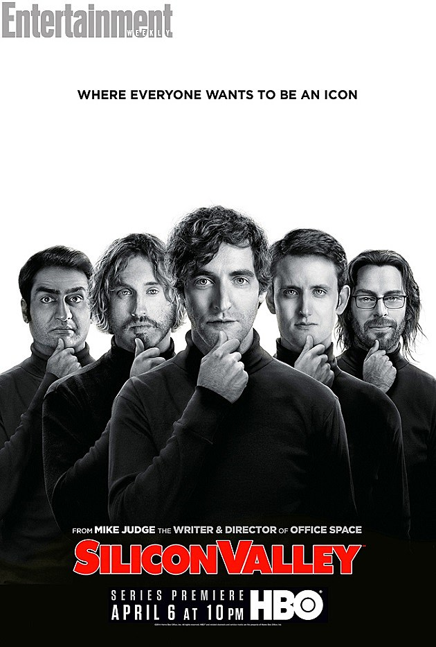 HBO Silicon Valley Poster Steve Jobs