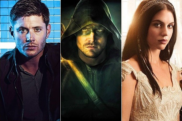 Arrow Season 3 Renewal Supernatural Season 10 CW Reign Vampire