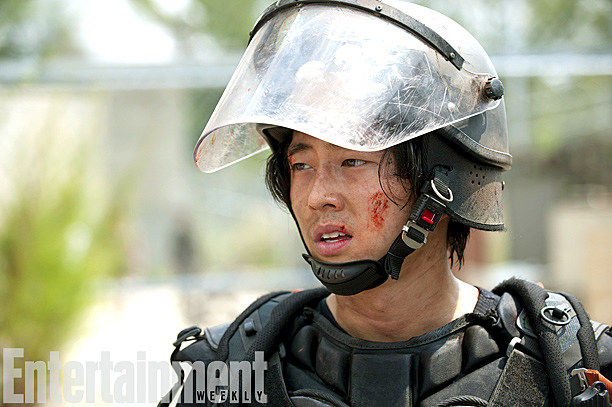 The Walking Dead Season 4 Photos After 2014 Glenn