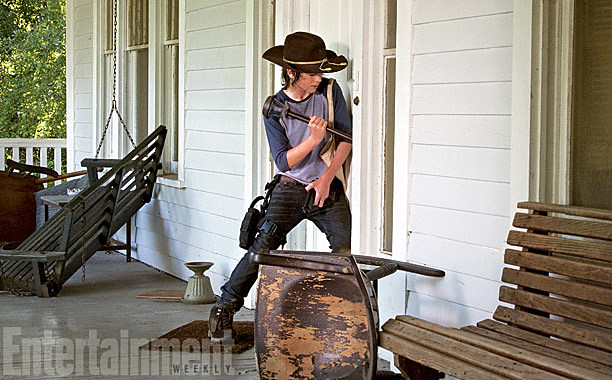 The Walking Dead Season 4 Photos After 2014 Carl