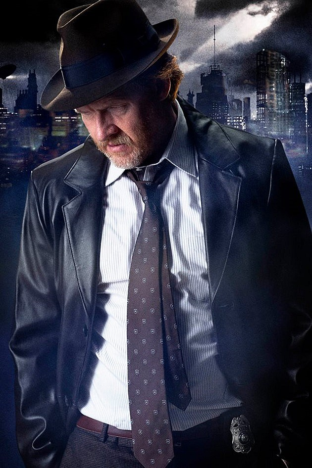 FOX Gotham Photo Donal Logue Harvey Bullock Batman