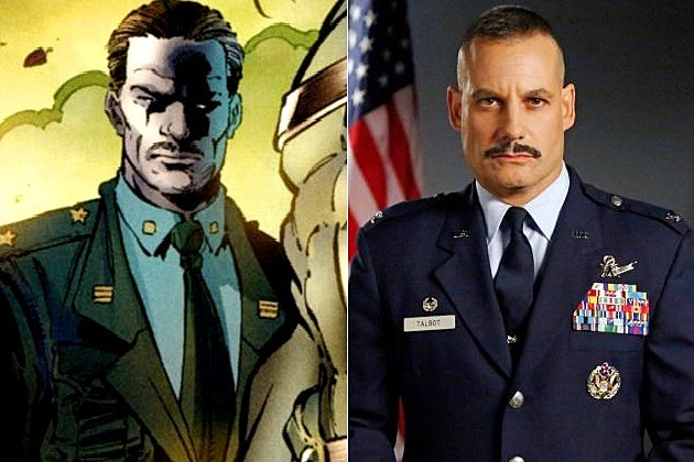 Marvel Agents of SHIELD Hulk Glenn Talbot Adrian Pasdar