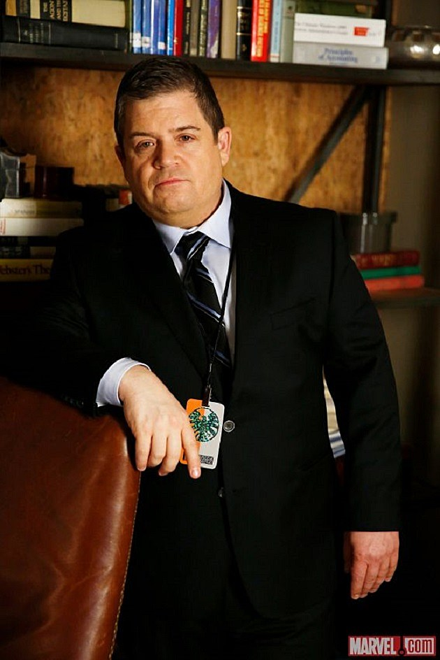 Marvel Agents of SHIELD Patton Oswalt Eric Koenig