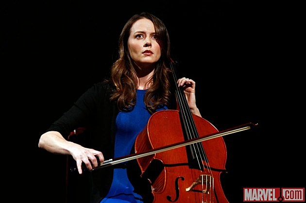 Agents of SHIELD Coulson Cellist Amy Acker Audrey Photo