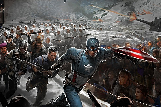 Captain America Concept Art Preview