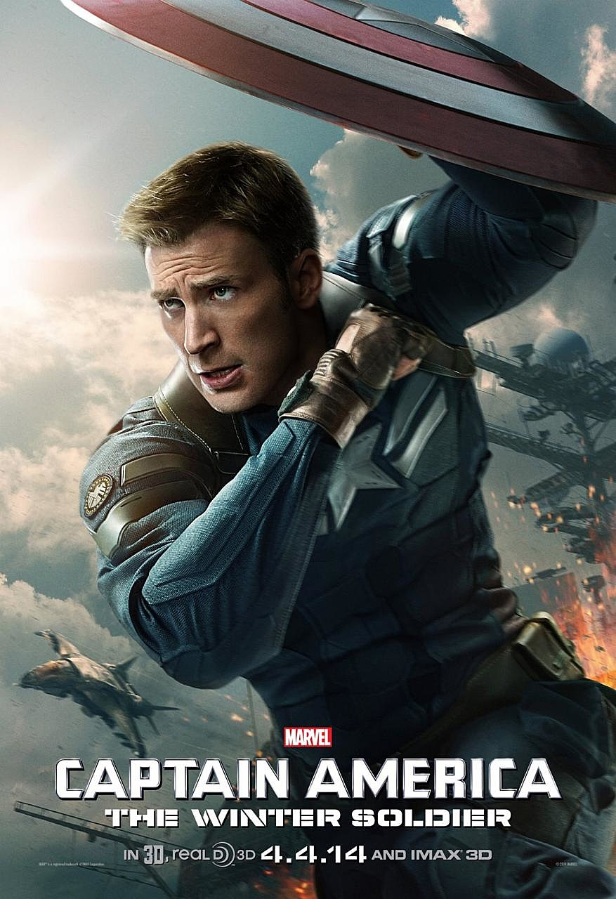 captain america the winter soldier unveils new poster
