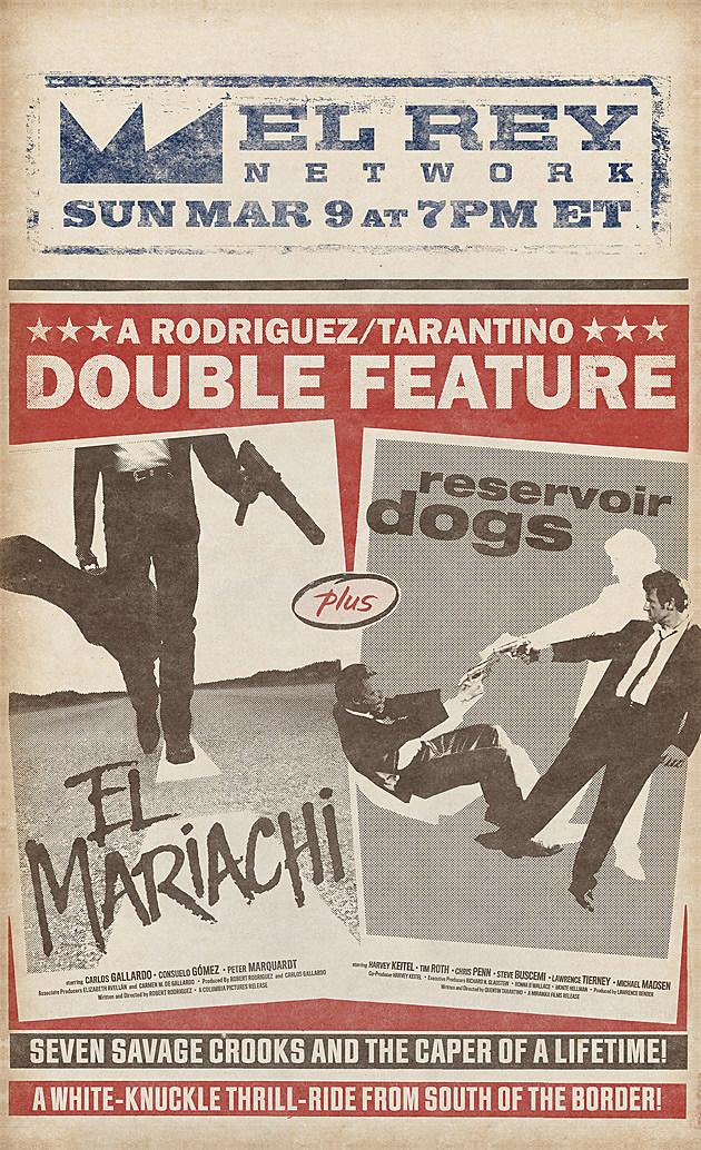 Reservoir Dogs El Mariachi El Rey Poster