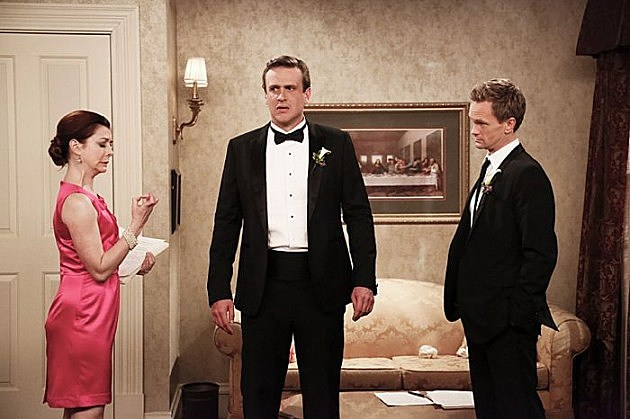 How I Met Your Mother Barney Robin Wedding Photos