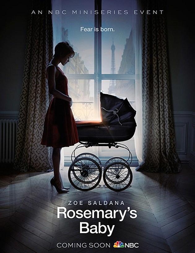NBC Rosemarys Baby Poster Zoe Saldana