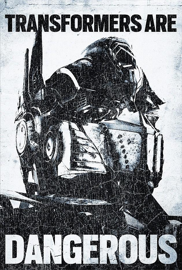 Transformers 4 Poster Dangerous