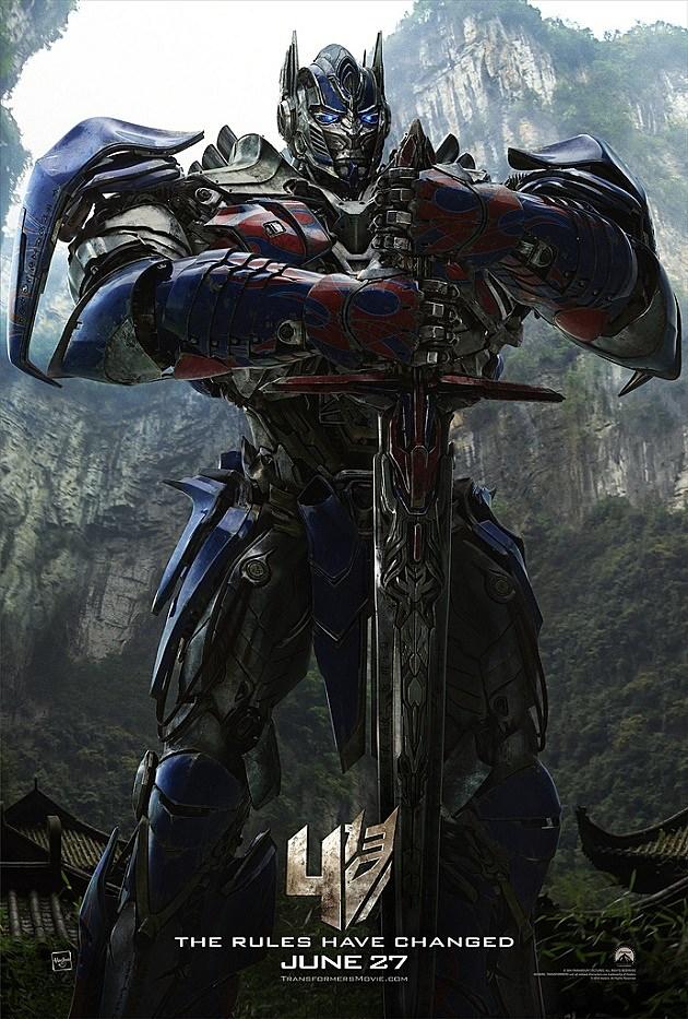 Transformers 4 Poster Optimus Prime