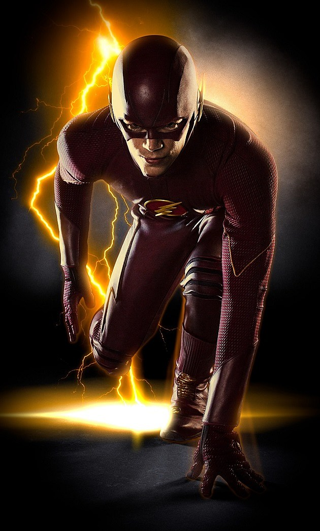 The Flash Costume CW Grant Gustin Barry Allen Arrow