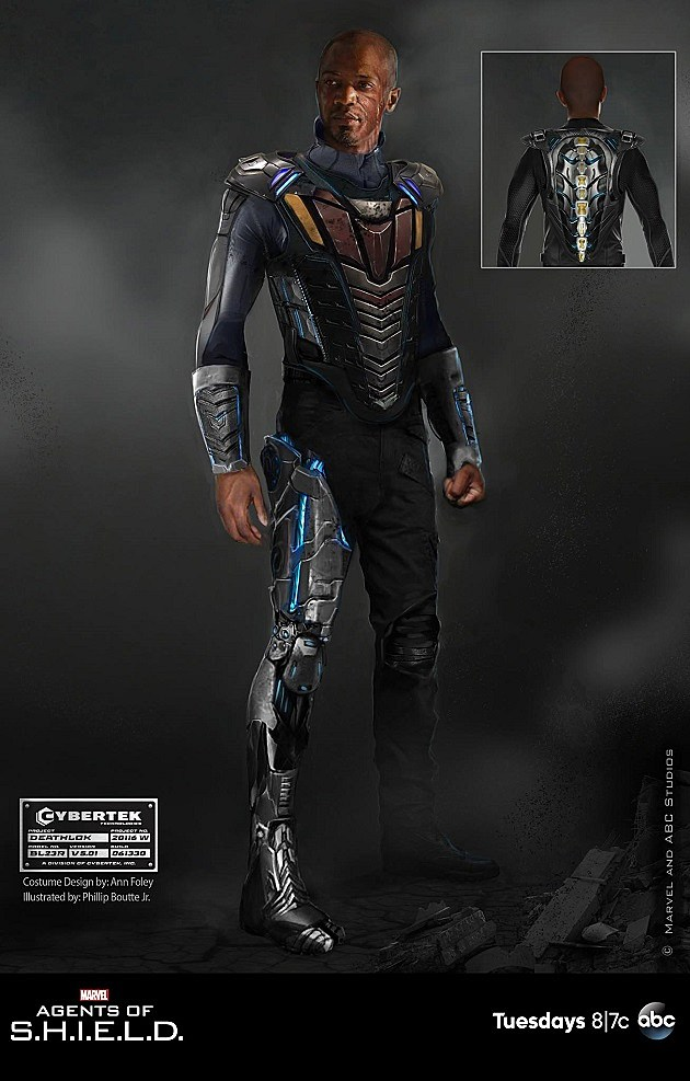 Marvel Agents of SHIELD Deathlok Concept Art