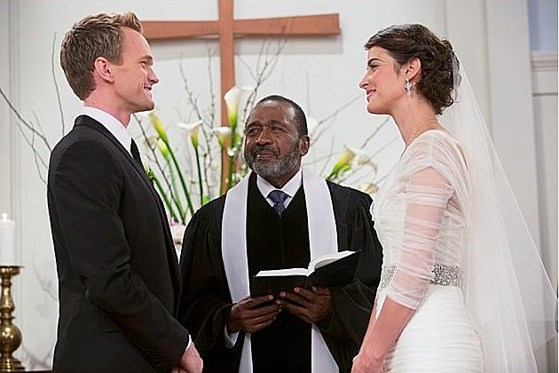 How I Met Your Mother Barney Robin Wedding Photos End of the Aisle