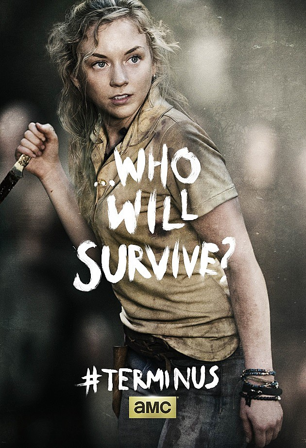 The Walking Dead Season 4 Finale Poster Beth A Terminus