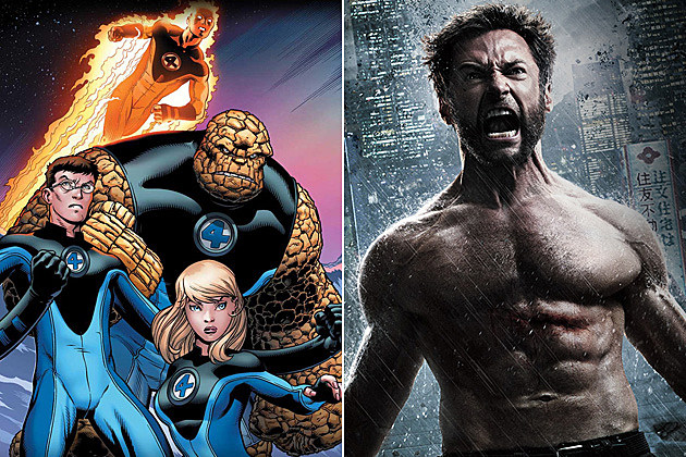 Fantastic Four 2, Wolverine 3 Release Dates