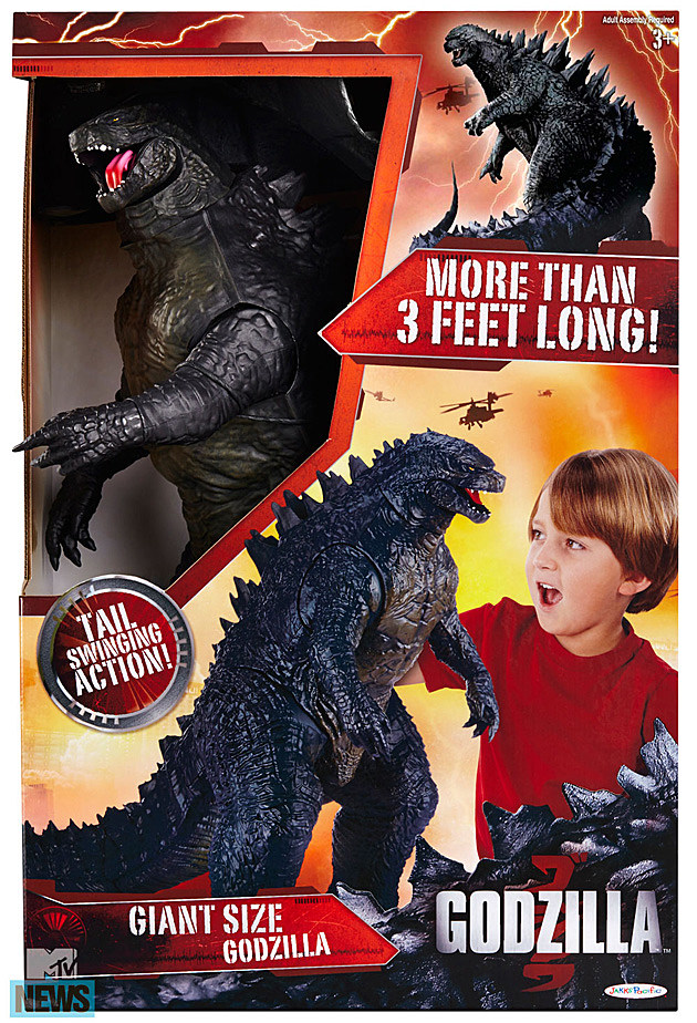 Godzilla Toy Giant Size Box