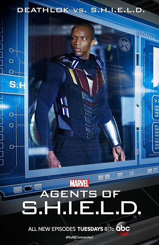 Marvel Agents of SHIELD Deathlok End of the Beginning Poster