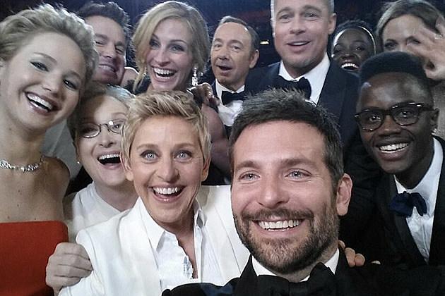 2014 Oscar selfie Ellen