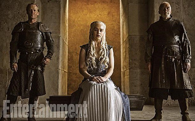 Game of Thrones Season 4 Photos Daenerys