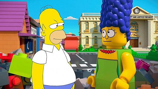 The Simpsons LEGO Photos Brick Like Me May 4