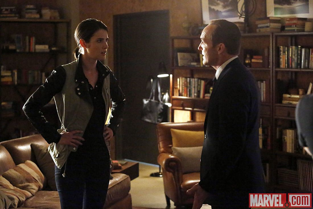 Cobie Smulders Maria Hill Agents of SHIELD Return