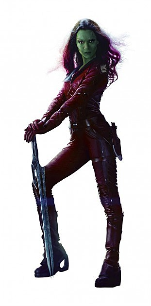 Guardians of the Galaxy Gamora Full Body Photo