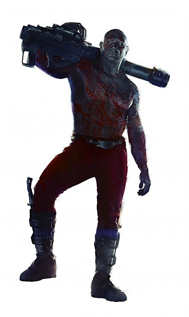 Guardians of the Galaxy Drax Full Body Photo