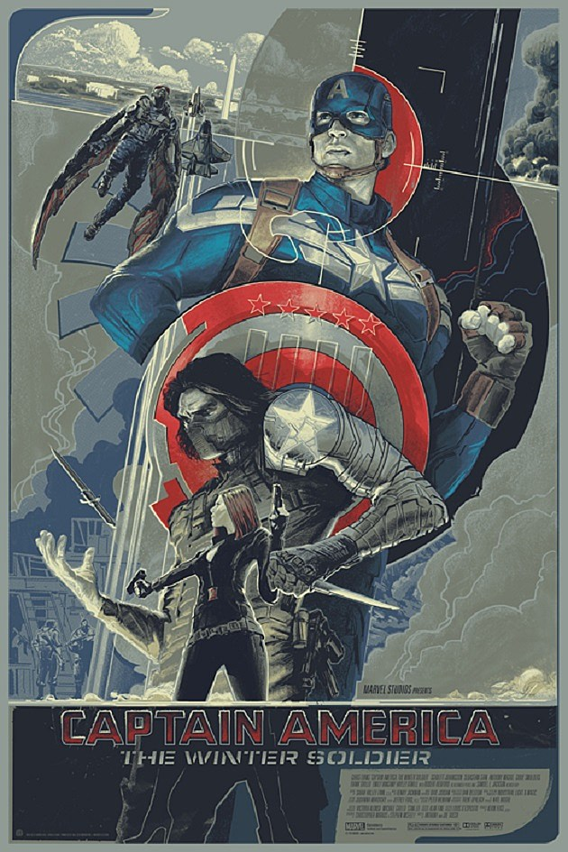 Captain America: The Winter Soldier Mondo Poster Regular