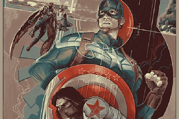 Captain America: The Winter Soldier Mondo Poster
