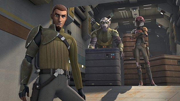 Star Wars Rebels Trailer Poster Photos May 4