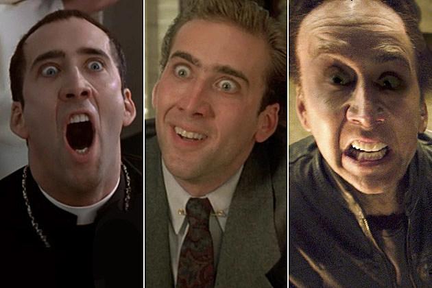 Nicolas Cage crazy
