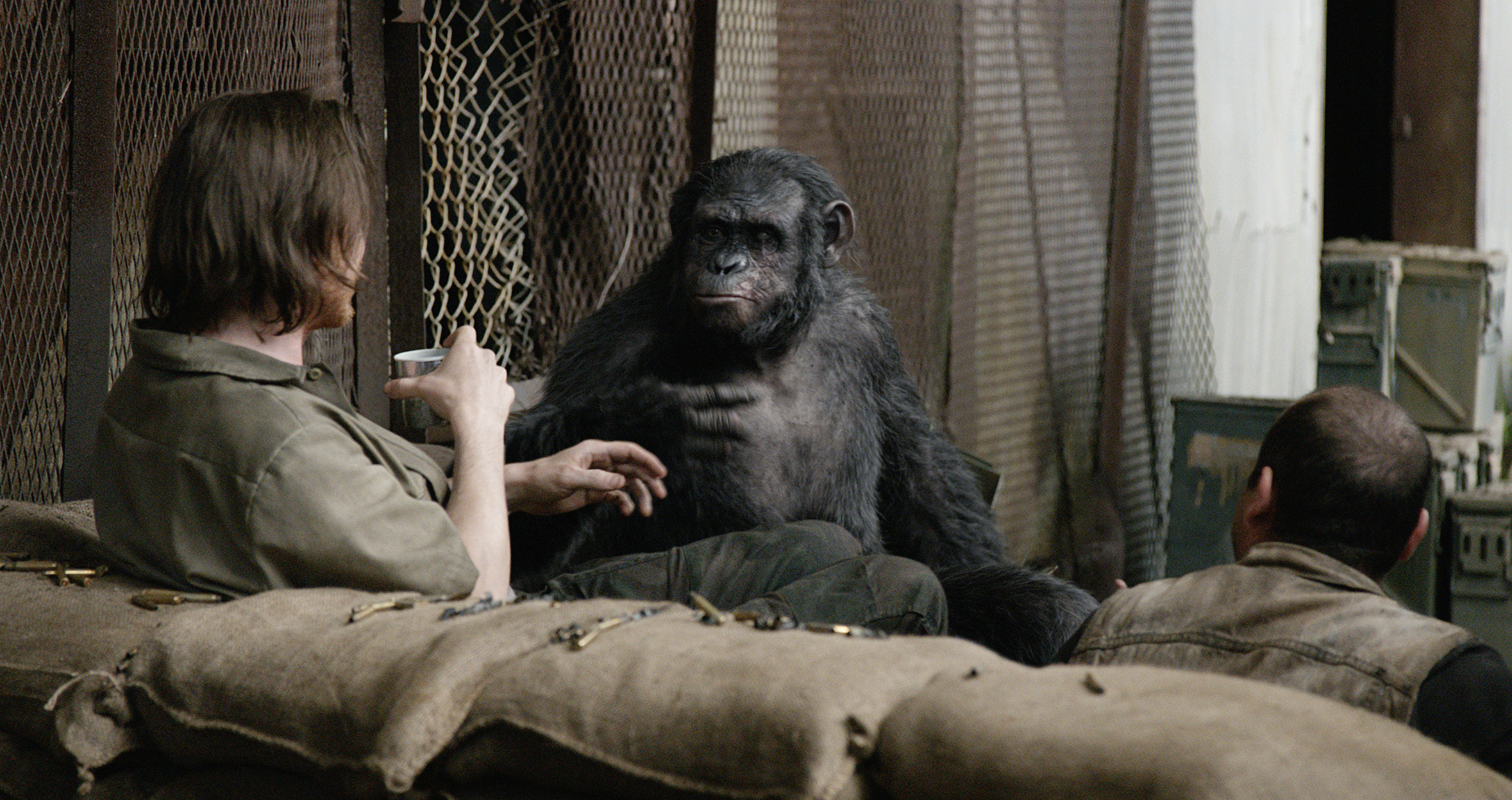 New 'Dawn of the Planet of the Apes' Pics: The Humans Are ...
