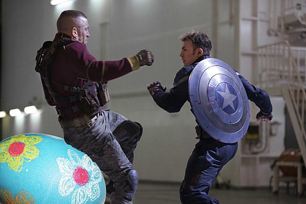 Captain America 2 Easter Egg