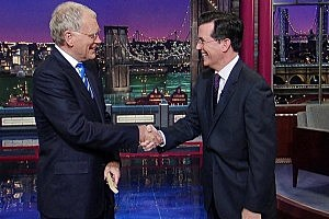 Stephen Colbert Late Show David Letterman Official