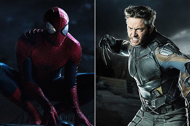 Amazing Spider-Man 2 X Men Days of Future Past