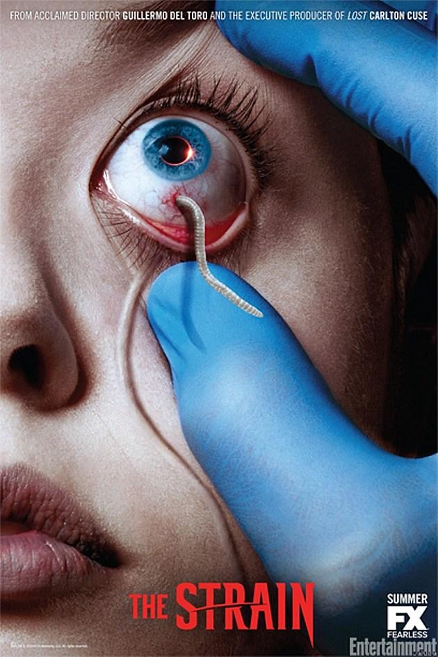 FX The Strain Guillermo del Toro Poster Teaser