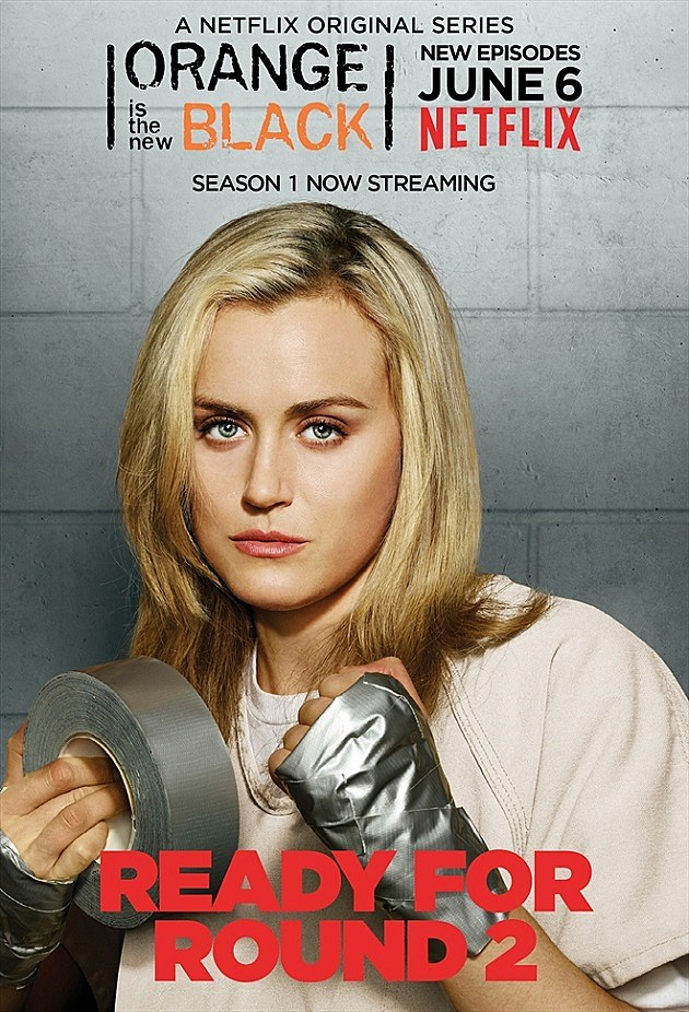 Orange is the New Black Season 2 Poster Piper Taylor Schilling