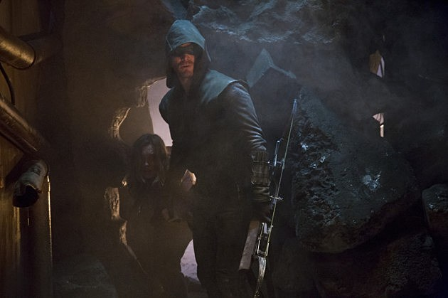 Arrow Streets of Fire Preview Photos Malcolm Merlyn