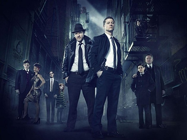FOX Gotham Cast Photo Batman