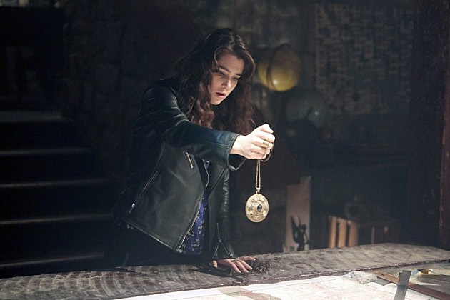 NBC Constantine Pilot Photos Matt Ryan Lucy Griffiths