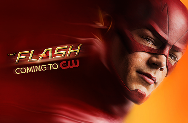 CW Flash Poster Grant Gustin Key Art